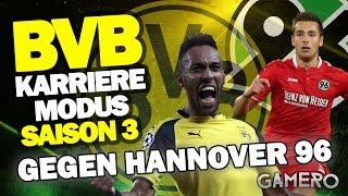 BUNDESLIGA Gegen HANNOVER 96 ♕ FIFA 17 KARRIEREMODUS BVB DEUTSCH S3 #11