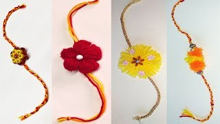 new rakhi design - new rakhi collection - rakhi making at home ideas - simple rakhi making