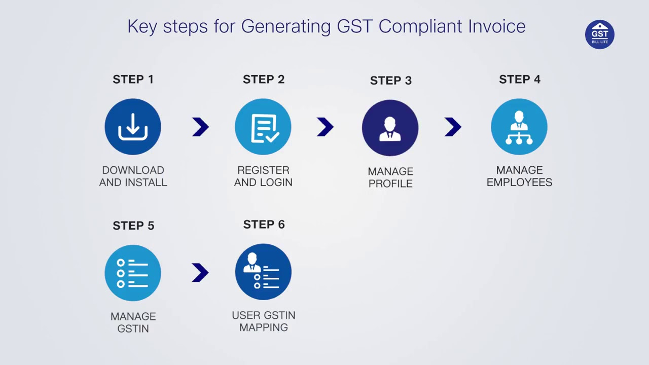 How To Generate Invoice In JioGST Bill Lite App