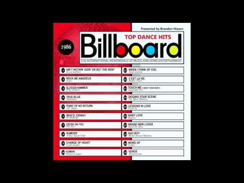 Billboard Top Dance Hits - 1986