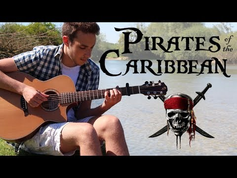 Pirates of the Caribbean Theme - Fingerstyle Guitar Cover (Free Tabs)