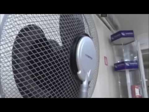 Напольный вентилятор AU 073 с увлажнителем
