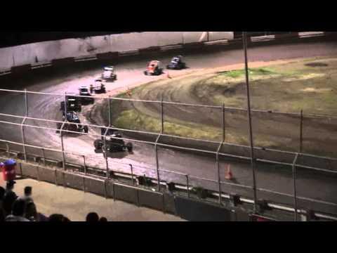 Dominic Scelzi 5/17/13 Plaza Park Raceway Non-Wing Main Event
