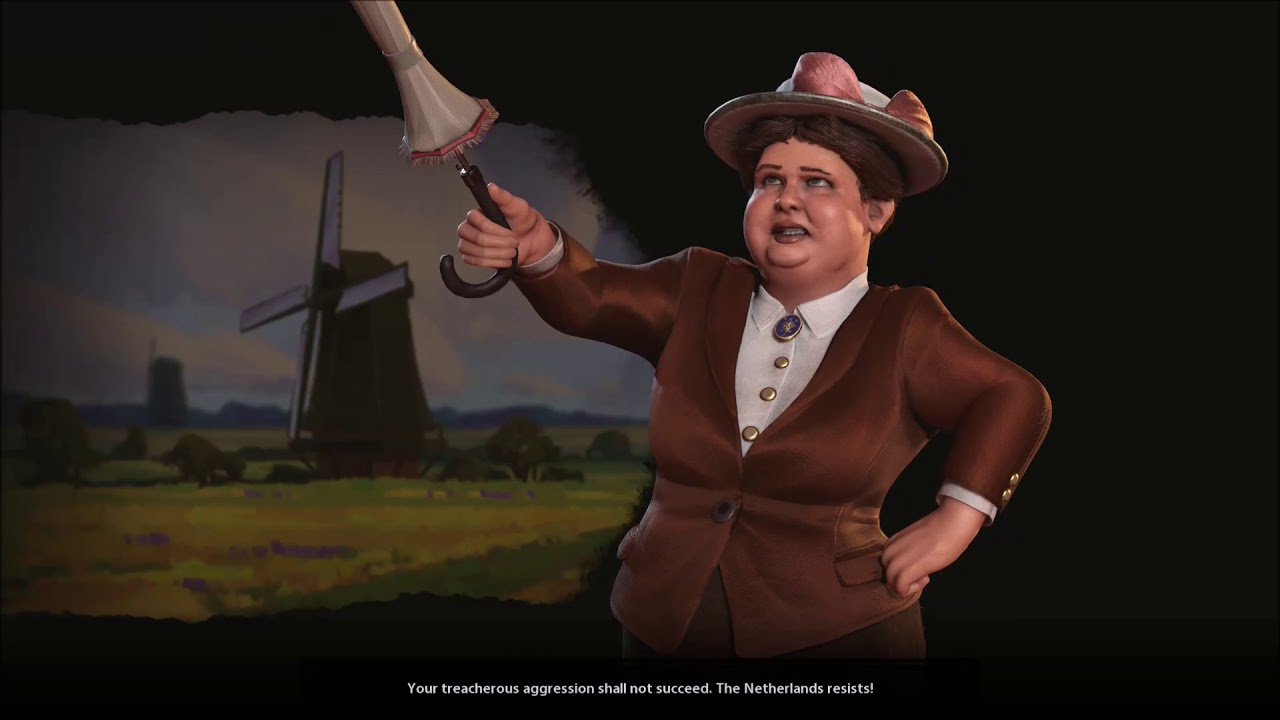 Sid Meier's Civilization VI: Rise and Fall - Declaring War On Wilhelmina of  the Netherlands