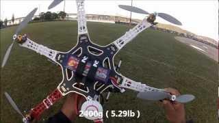 DJI F550 Hexacopter NAZA IOC & GPS magnetic declination setup part #4
