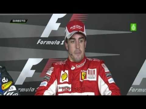 Fernando Alonso declaraciones tras la Q3 GP Abu Dhabi 2010