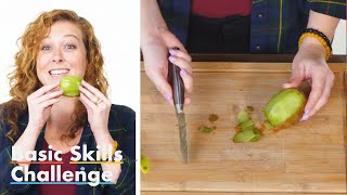 50 People Try to Peel a Kiwi | Epicurious