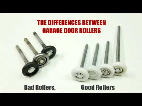 Garage Door Rollers Whats The Difference Youtube