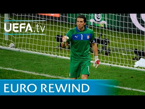 England v Italy: Watch the full 2012 penalty shootout