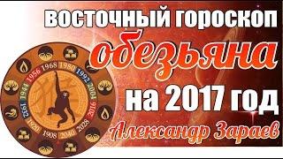 ВОСТОЧНЫЙ ГОРОСКОП ОБЕЗЬЯНЫ НА 2017 ГОД ОТ АЛЕКСАНДРА ЗАРАЕВА