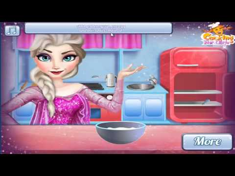 Frozen Full Movie Game Disney Frozen Elsa Real Cooking  Video Games for Children 2014