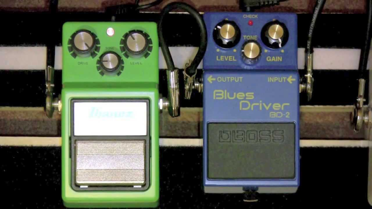 IBANEZ TS9 VS BOSS BLUES DRIVERS FOR PC