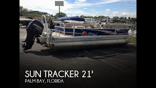 Used 2014 Sun Tracker Party Barge 20 DLX for sale in Palm Bay, Florida