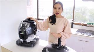 GRUENHEIM VACUUM & STEAM CLEANING SYSTEM- HOW TO USE