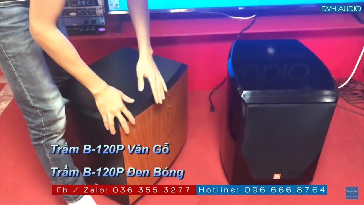 Siêu trầm JBL B-120P vân gỗ và đen bóng tại DVH . lh 0966668764 - 0363553277