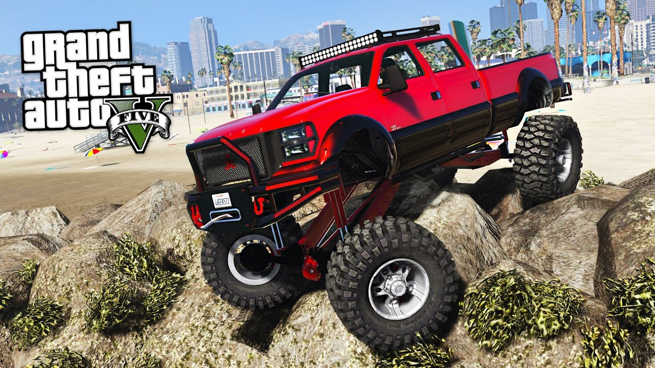 Off Roading!! Impossible Off Road Challenges!! (gta 5 Mods