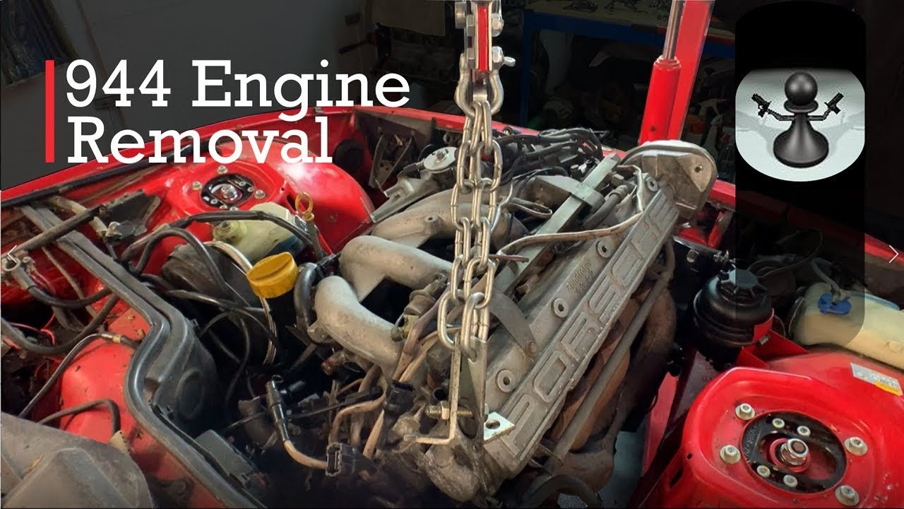 Porsche 924 S Turbo Build 1 944 Engine Removal Youtube