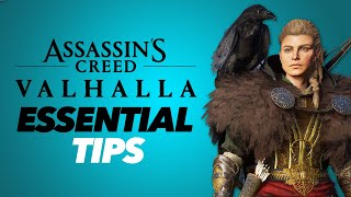 Assassin's Creed Valhalla - 14 ESSENTIAL TIPS!!!