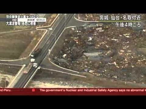 Hundreds dead after quake, tsunami slam Japan - World news - Asia-Pacific - msnbc.com.flv
