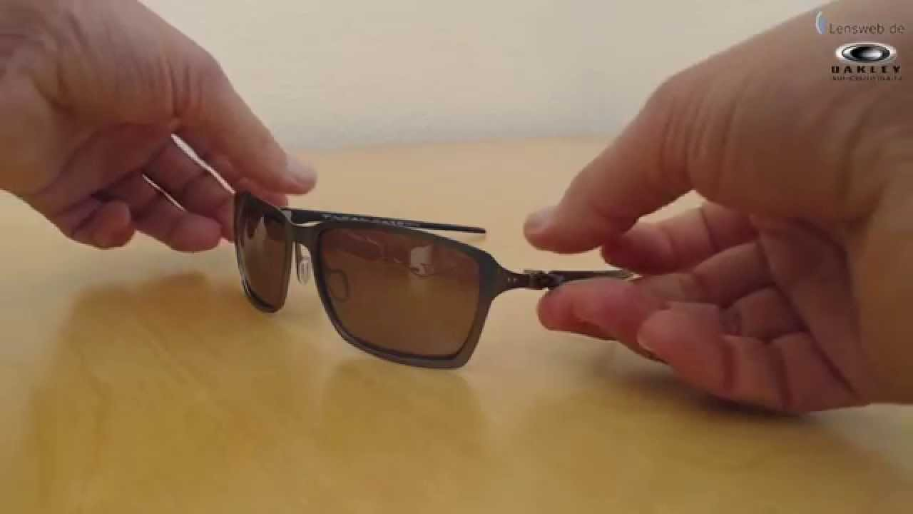 87f722dbf4 Oakley Tincan Carbon - Carbon - OO Black Iridium Polarized - YouTube