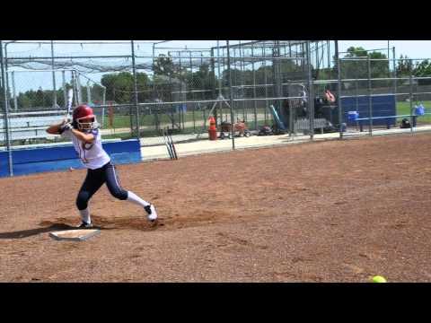 Hannah Peck 2016 3B/2B/Switch Hitter Softball Skills Video