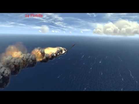 Silent Hunter III-Silent Hunter V-Ubootwaffe-24 Flotilla Geweih