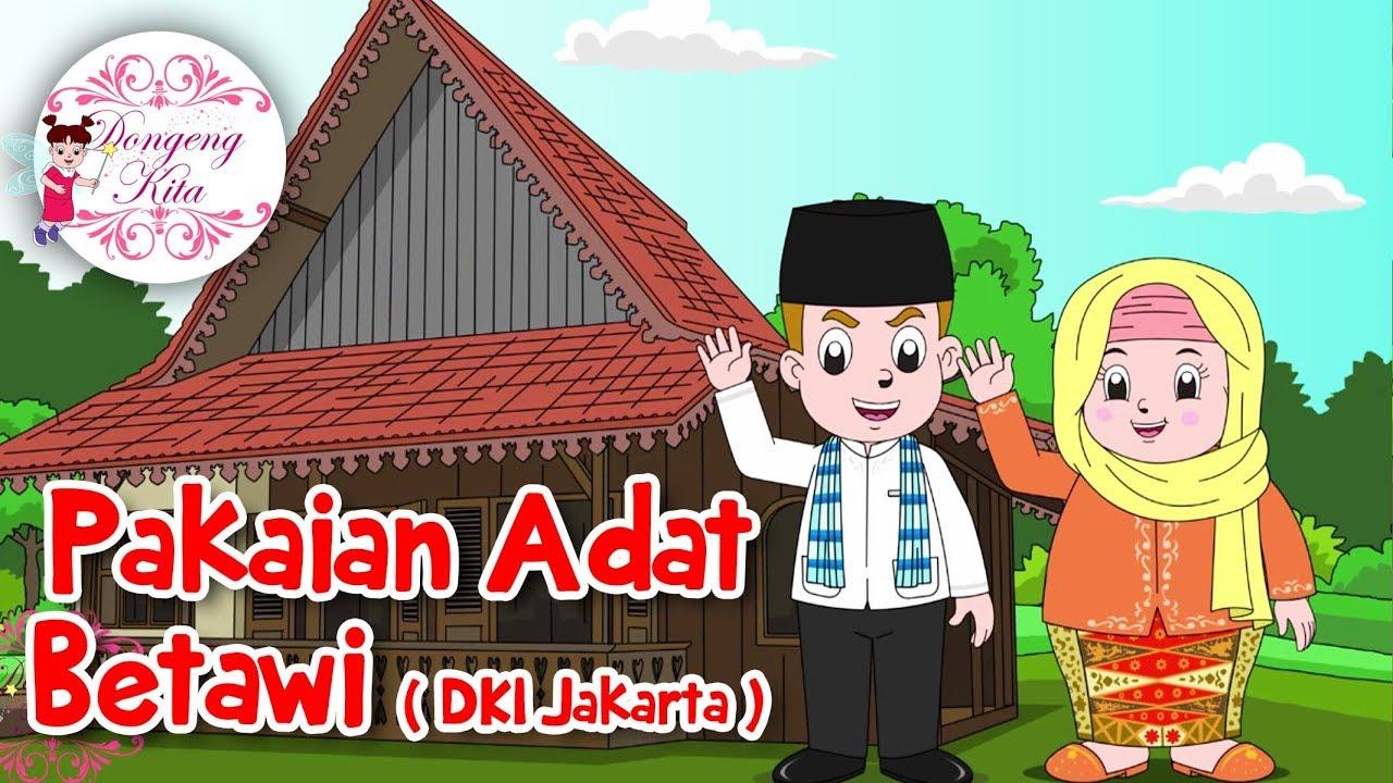 Pakaian Adat Betawi Dki Jakarta Budaya Indonesia Dongeng