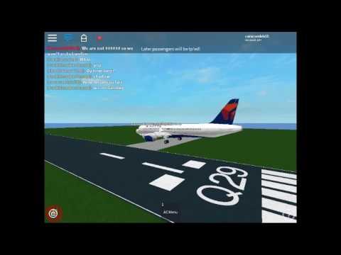 Delta Airlines Flight Prince George-London-ROBLOX Flight