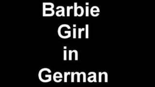 barbie girl German version