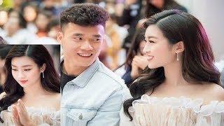 Lộ ảnh tình tứ Hoa hậu Đỗ Mỹ Linh bất ngờ thừa nhận tình cảm với thủ môn Bùi Tiến Dũng U23 Việt Nam