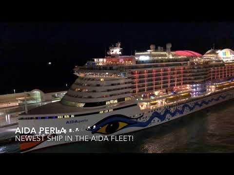 Spectacular Barcelona SAILAWAY Cheering Passengers Mien SCHIFF 2, Viking Star, Aida Perla