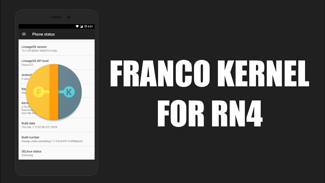 Franco Kernel Review | Redmi Note 4/4X (Mido)