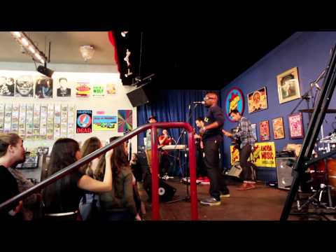 Moral of the Story LIVE - George Watsky - Amoeba Records in San Francisco