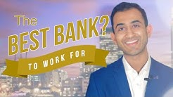What's the BEST BANK to Work for?