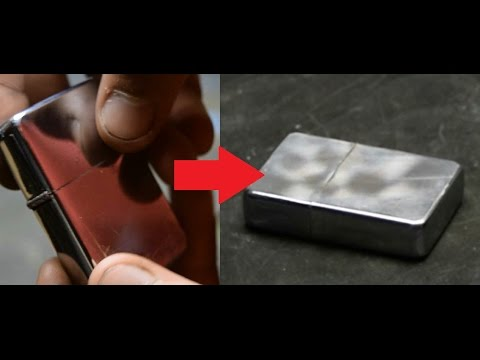 How to age ZIPPO lighter