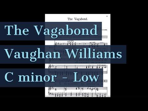 The Vagabond Piano Accompaniment Low Key Songs of Travel Karaoke