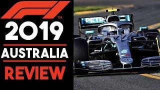 F1 2019 Australia Race Review - Bottas is BACK!!!