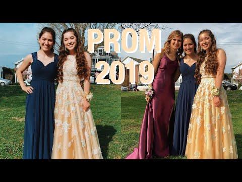 PROM 2019: GRWM & VLOG
