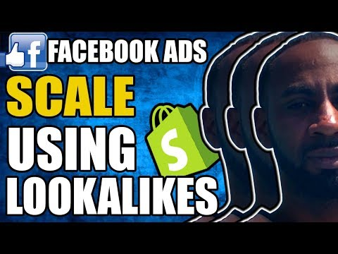 FACEBOOK ADS - SCALING WITH LOOK-A-LIKE AUDIENCES