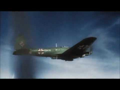 World War 2 COLOR FOOTAGE HD!! German Air Force (Luftwaffe)