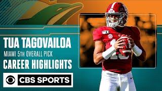 Tua Tagovailoa: Miami Dolphins 5th Overall Pick | Career Highlights  | CBS Sports
