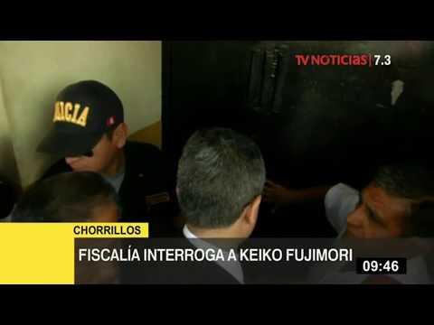 Fiscal Domingo Pérez llega al penal de Chorrillos para interrogar a Keiko Fujimori