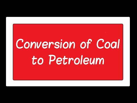9 Conversion Of Coal To Petroleum Ch3 12th