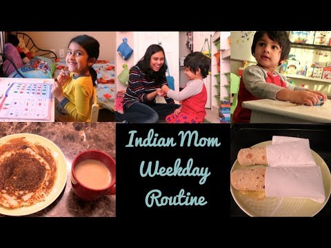 My Morning to Night Routine 2017 I Indian Mom weekday Routine I Spend a day with me