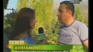 MAIKE SIERRA OVNIS 1de4 CANAL TV MEGA 2010