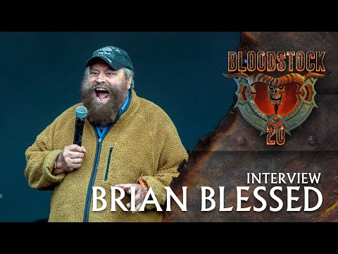 BRIAN BLESSED - Interview Bloodstock TV 2021