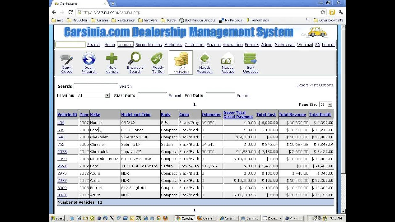 used car dealer software web based dms updates and new features
