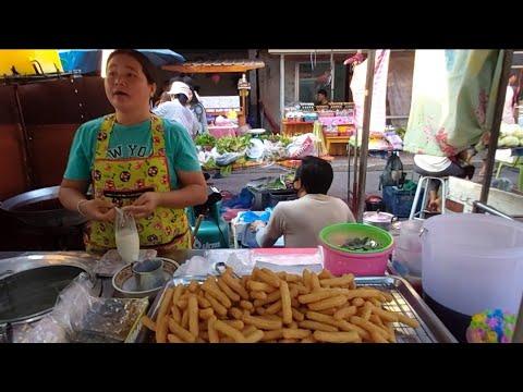 111 ชูโรสสเปน อร่อยเลย | Thai Street Food |ตลาดไนท์พิมาย โคราช ตลาดต้องชม ZabTalon