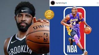 Kyrie Irving: Change NBA Logo To Kobe Bryant | \