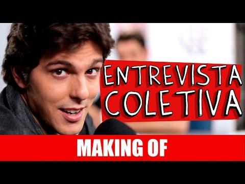 Making Of – Entrevista Coletiva